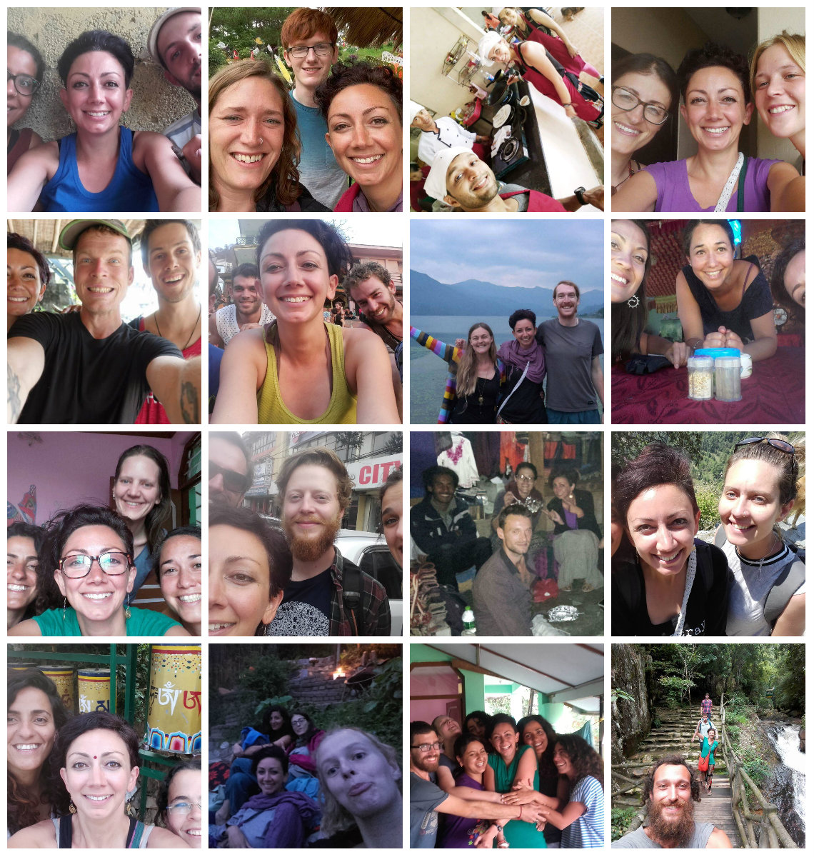 Whenever you're scared of travelling solo - please, take a look at all the happy faces of us 'poor, lonely, scared' solo travellers, out in this horrid, cruel world AND GO GET THAT FREAKIN' TICKET!