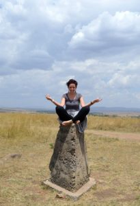 How to have the money for that backpacking trip.  Here I am in the Maasai Mara, on the border between Kenya and Tanzania.